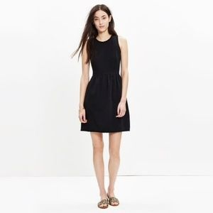 Madewell // Fringed Afternoon Dress Black SZ Small